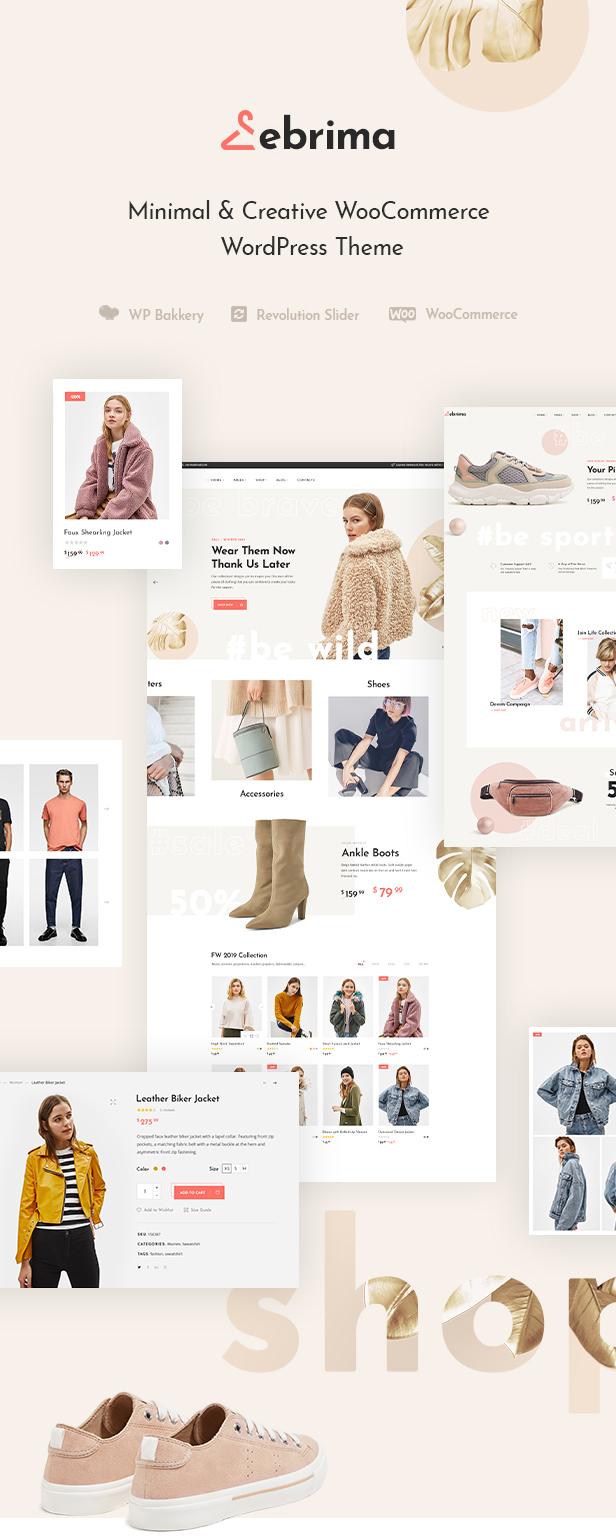 Ebrima - Minimal & Creative WooCommerce WP Theme - 1